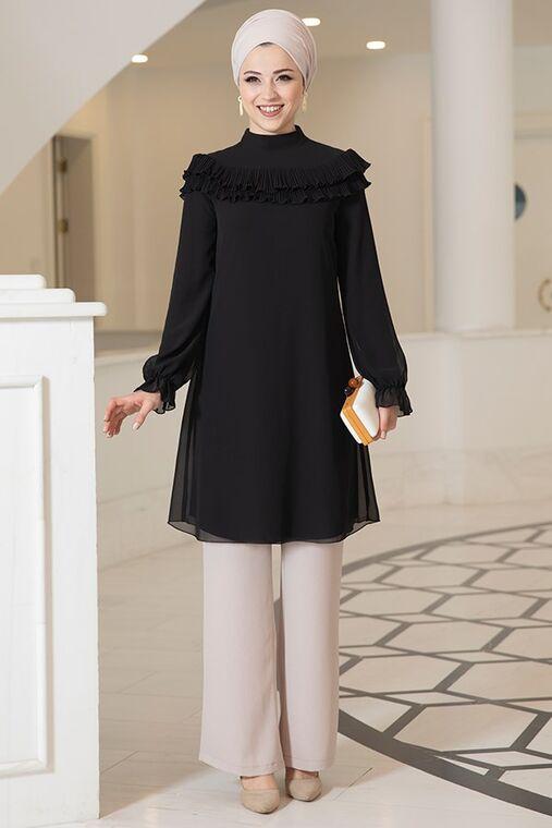 Dress Life - Siyah Elvin Tunik - DL16181