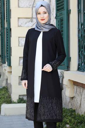 Siyah Esila İkili Takım - ES15831 - Thumbnail