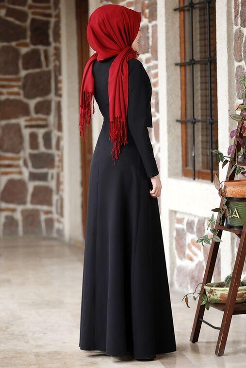 Siyah Eylül Elbise - NM15790