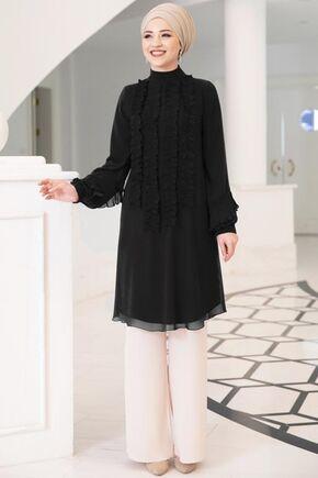 Dress Life - Siyah Eylül Tunik - DL15706