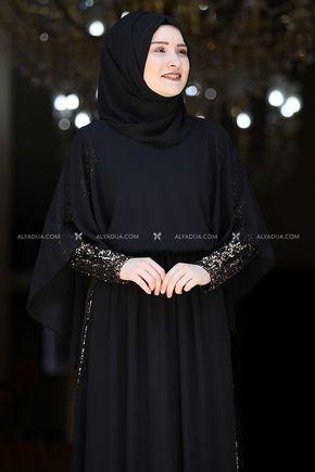 Siyah Güneş Abiye - RZ13927 - Thumbnail