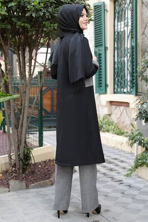 Siyah Hanzede İkili Takım - ES15776 - Thumbnail
