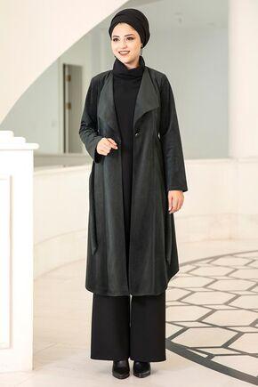 Dress Life - Siyah Hare Ceket - DL15693