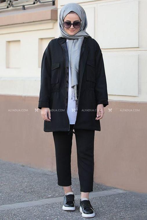 Siyah Hera Ceket - ST14172