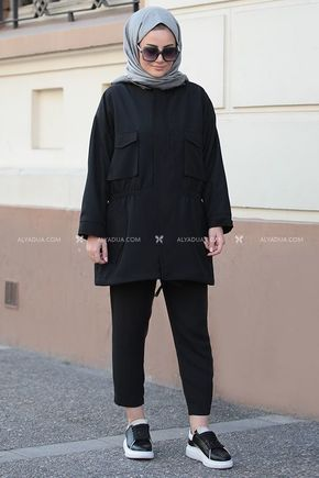 Seda Tiryaki - Siyah Hera Ceket - ST14172