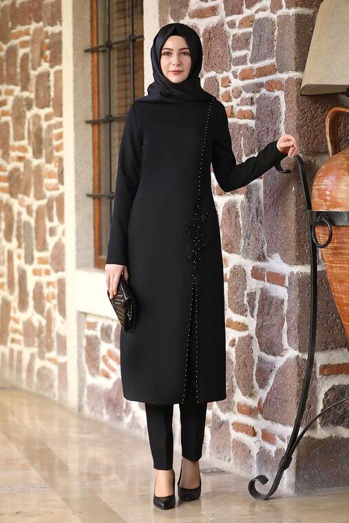 Elben Moda - Siyah Hera İkili Takım -ELM16519