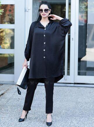Moda Rafta - Siyah İlkadım Takım - MOR15365