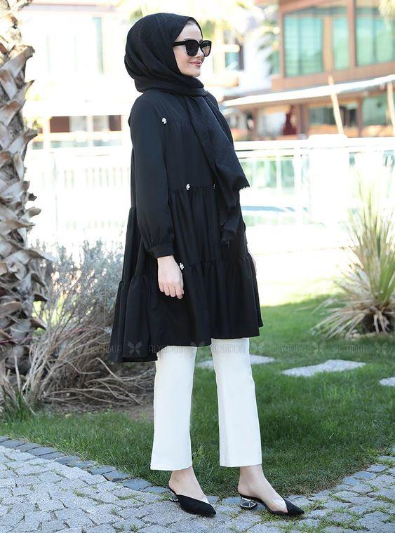Siyah İnci Tunik - ST14907