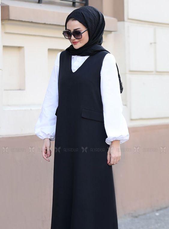 Siyah Jile Gömlek Takım - ST14564