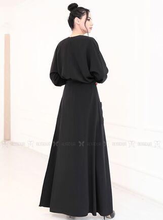 Siyah Katre İkili Takım - RZ15135 - Thumbnail