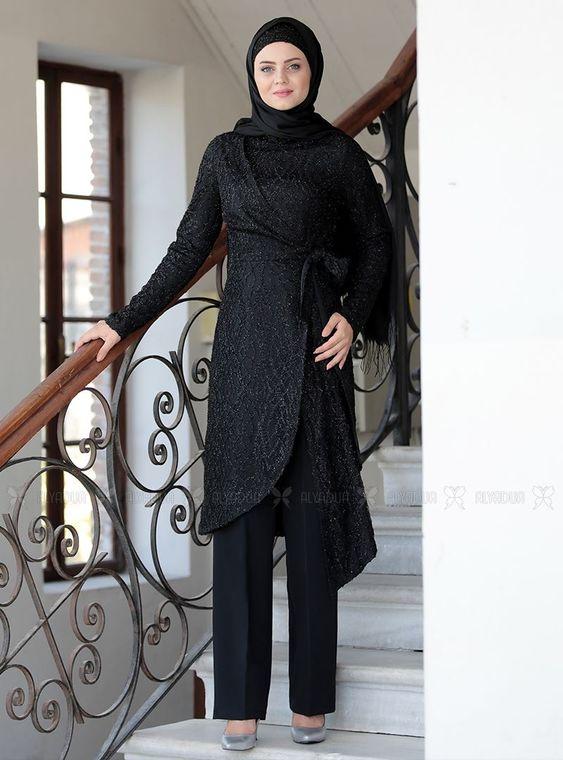 Ahunisa - Siyah kayra Takım - AHU14244