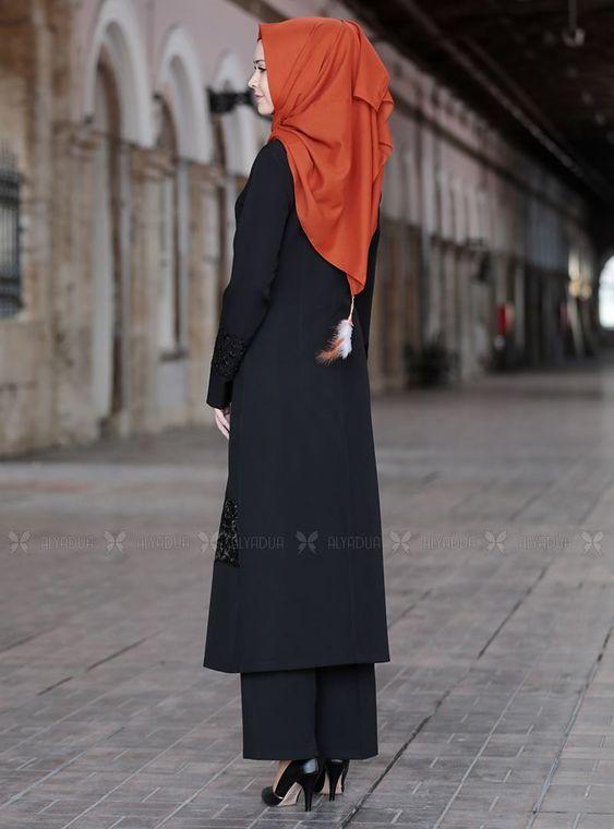 Siyah Narin İkili Takım - SFN14814