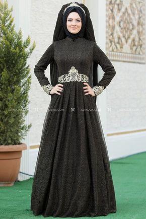 Sema Şimşek - Siyah Nazende Abiye - SŞ13155