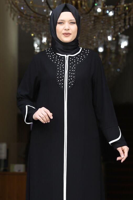 Siyah Osmanlı Ferace - AMH16236
