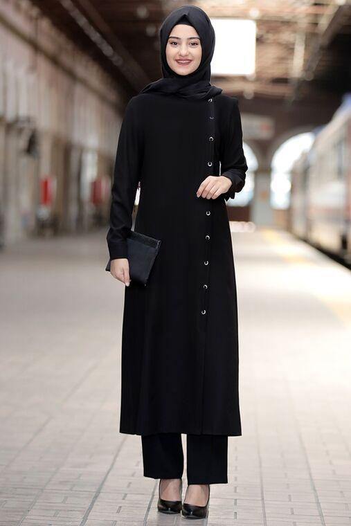 Rabeysa - Siyah Rümeysa İkili Takım - RS15766