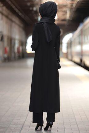 Siyah Rümeysa İkili Takım - RS15766 - Thumbnail