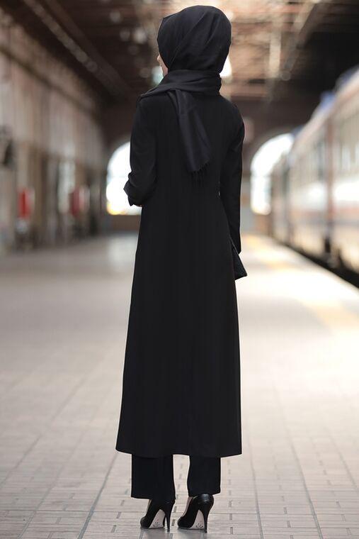Siyah Rümeysa İkili Takım - RS15766