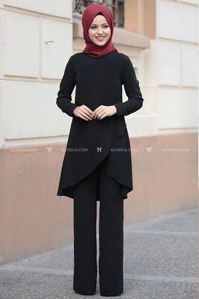Dress Life - Siyah Sena İki Takım - DL14206
