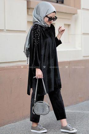 Seda Tiryaki - Siyah Serra İkili Takım - ST12620
