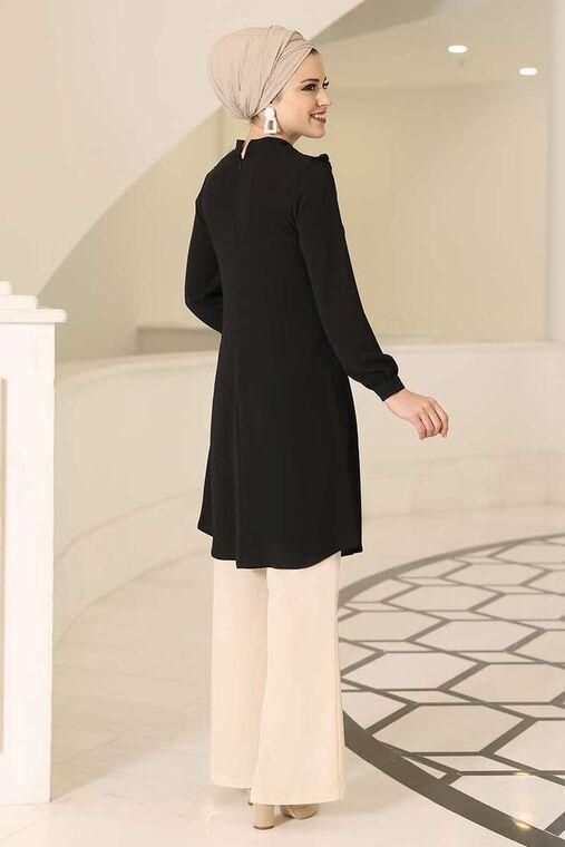 Siyah Sima Tunik - DL16128