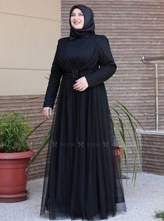 Emsale - Siyah Su Abiye - ES15156