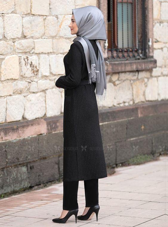 Siyah Yaren Hırka - RS14494