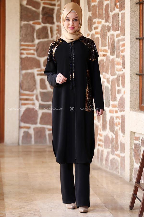 Emsale - Siyah Yasemin Kap - ES13695