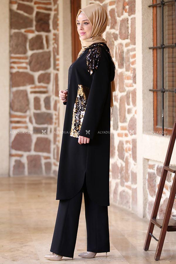 Emsale - Siyah Yasemin Kap - ES13695 (1)