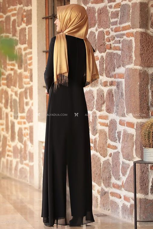 - Siyah Zincirli Tulum - RZ11598 (1)