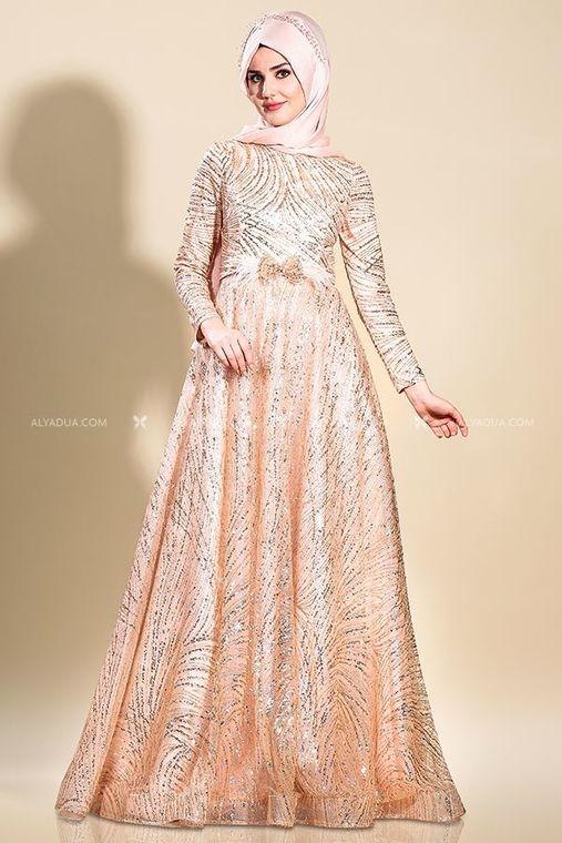 Som Fashion - Somon Ela abiye - SF13227
