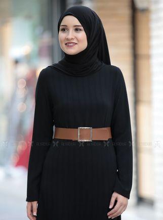 Taba Damla Elbise - RZ14234 - Thumbnail
