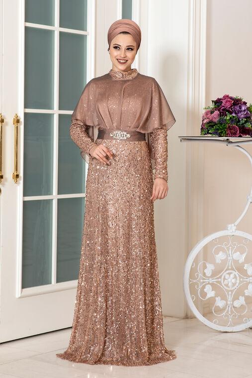 Dress Life - Taba Deren Abiye - DL16316