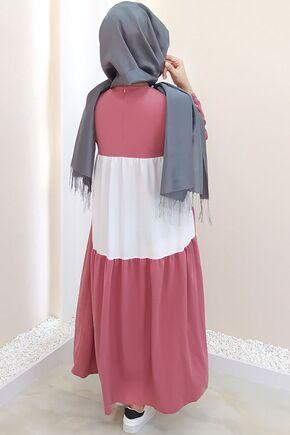 Pudra Farah Elbise - SES15383 - Thumbnail