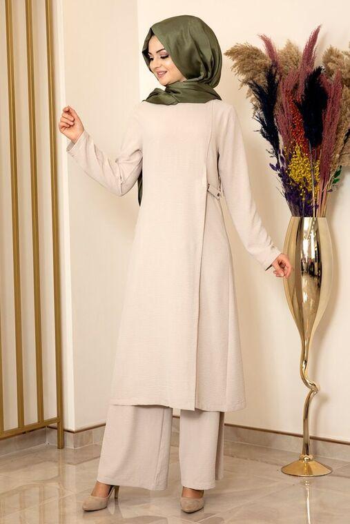 Fashion Showcase - Taş Yandan Tokalı Aerobin Takım - FS15859