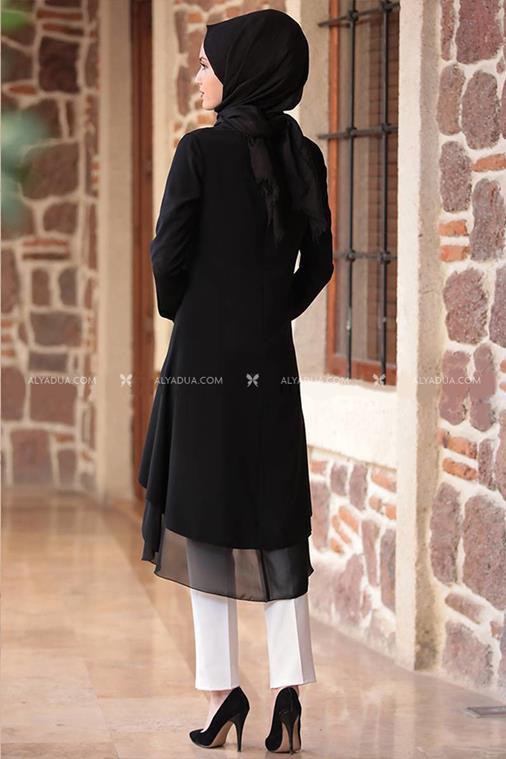 - Tunic - Rag & Crepe - Black - 12756 (1)