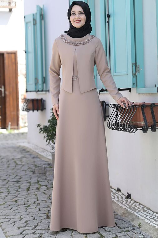 Vizon Ayliz Elbise - AHU15952