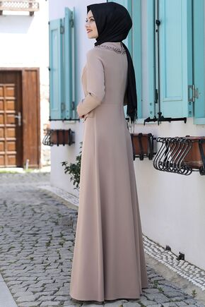 Vizon Ayliz Elbise - AHU15952 - Thumbnail