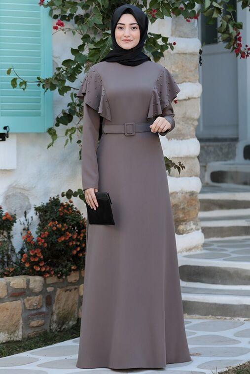 Rabeysa - Vizon Damla Elbise - RS15786