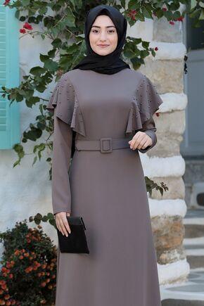 Vizon Damla Elbise - RS15786 - Thumbnail