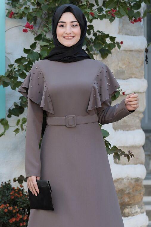 Vizon Damla Elbise - RS15786