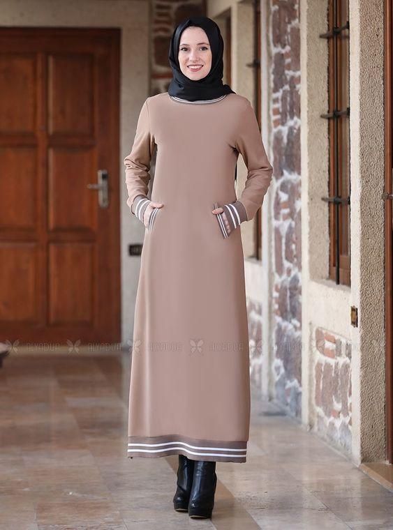 Alyadua - Vizon Eşofman Elbise - ADC14627