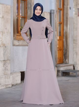 Rabeysa - Vizon Hilal Elbise - RS14320