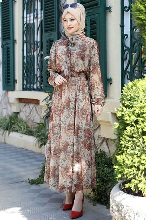 Emsale - Vizon Lorin Elbise - ES15890