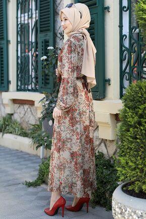 Vizon Lorin Elbise - ES15890 - Thumbnail