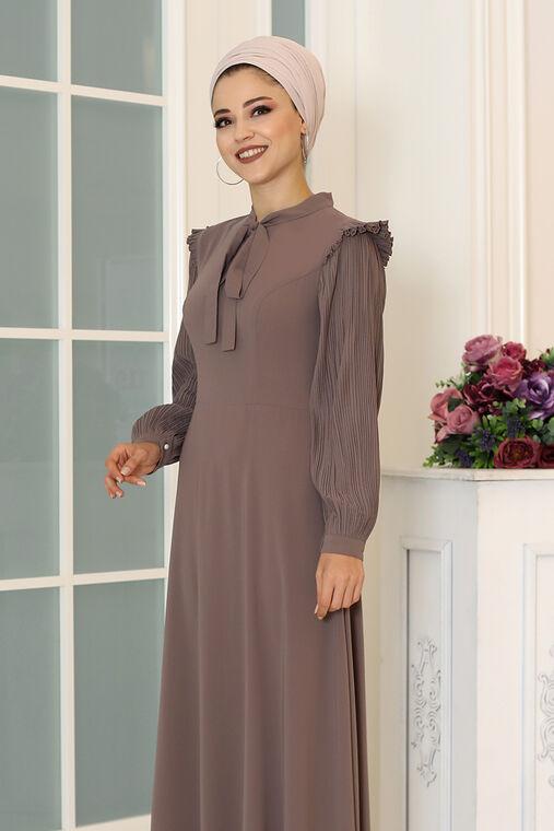 Vizon Merve Elbise - DL16492