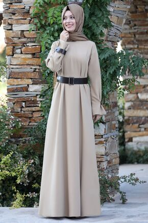 Semra Aydın - Vizon Naz Elbise - SA15596