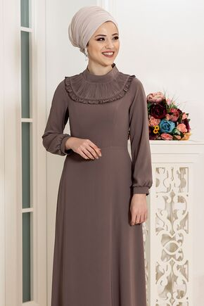 Vizon Selin Elbise - DL16163 - Thumbnail