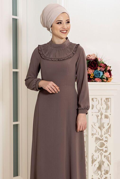 Vizon Selin Elbise - DL16163