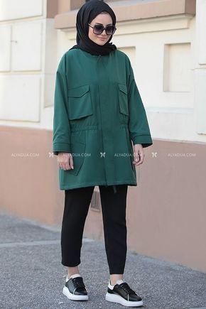 Seda Tiryaki - Yeşil Hera Ceket - ST14171