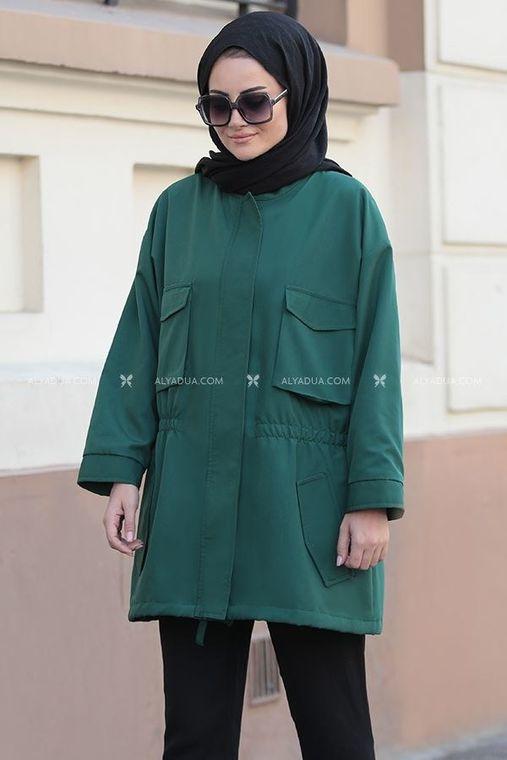 Yeşil Hera Ceket - ST14171